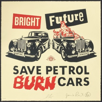 Shepard FAIREY - Bright Future (Large)