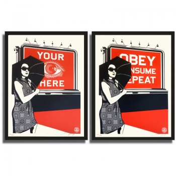 Shepard FAIREY - Obey Billboard Set