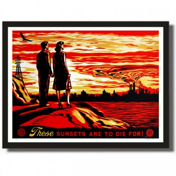Shepard FAIREY - These Sunsets Are to Die For