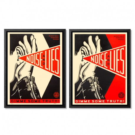 Shepard FAIREY - Noise and Lies (set)