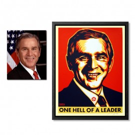 Shepard FAIREY - One Hell of a leader (set)