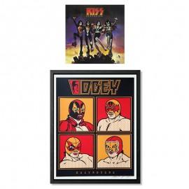 Shepard FAIREY - Kiss Obey Destroyers