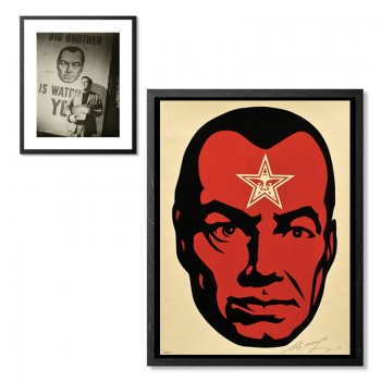 Shepard FAIREY - Big Brother 2