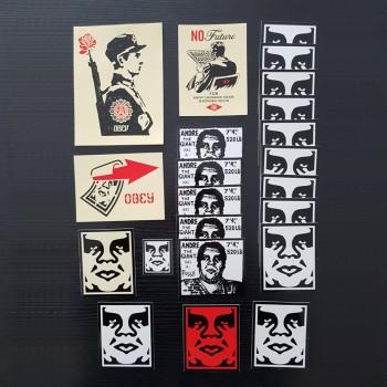 Shepard FAIREY - Stickers (set)