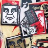 Shepard FAIREY - Stickers (set)
