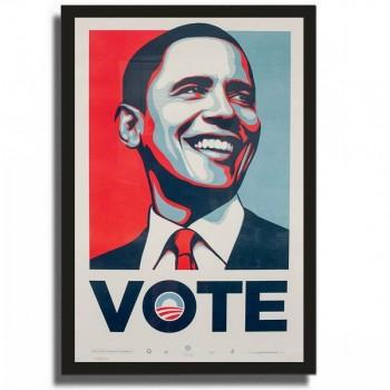 Shepard FAIREY - VOTE - Sérigraphie