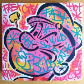SPEEDY GRAPHITO - POPEYE rose