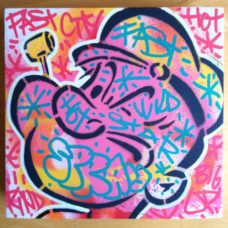 SPEEDY GRAPHITO - POPEYE pink