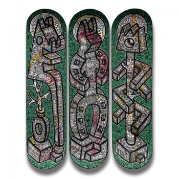 SPEEDY GRAPHITO - KARMA Totems (tryptique)