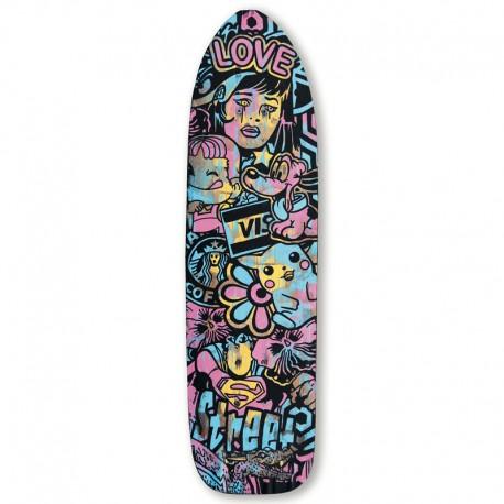 SPEEDY GRAPHITO - LOVE STREET (skateboard)