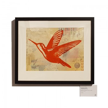 Shepard FAIREY - HUMMINGBIRD (original)