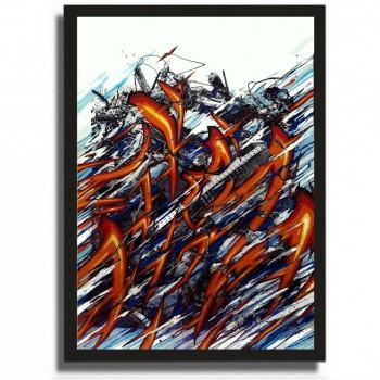 KATRE - K-Malakoff elevation - Acrylic on paper